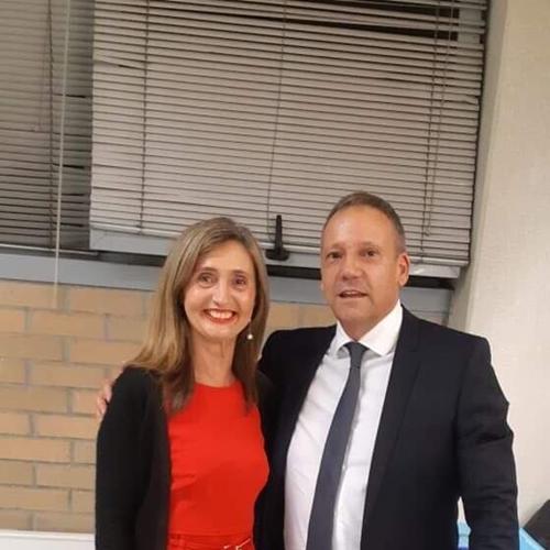 Drª Teresa e Prof. Miguel
