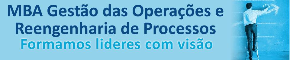 MBA Gestão de operações e processos